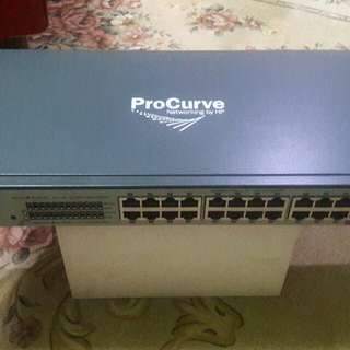 Hp Procurve 1700-24 Series Switch