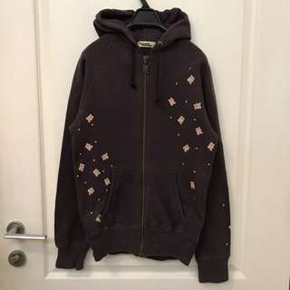 Hysteric Glamour bear zip up