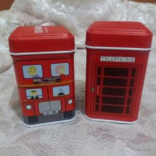 Set 2bh kaleng London