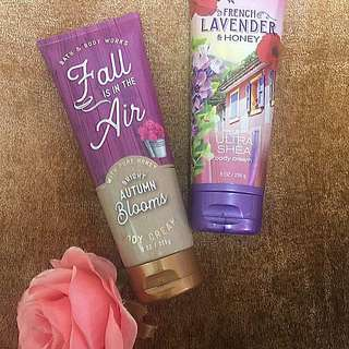 "Bath and Body Works Body Cream ""Fall is in the Air"""