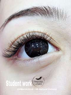 Eyelash Extensions courses