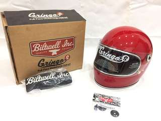 Brand new biltwell helm gringo s size XL