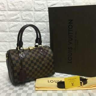 Louis Vuitton Speedy Bandouliere 25 Damier