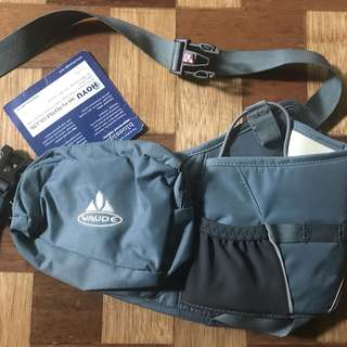 Vaude Little Waterboy Hip Bag - Hiking Fanny Pack in Gray
