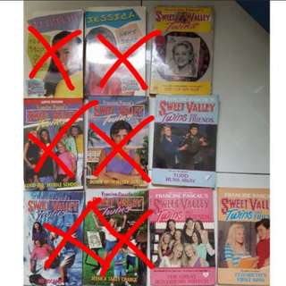 Sweet valley middle school book lot