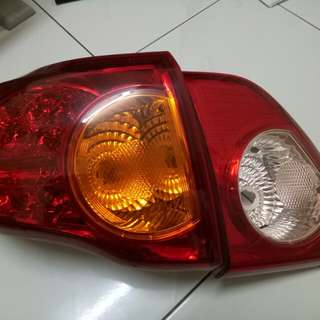 Original Toyota Altis Left Tail Light