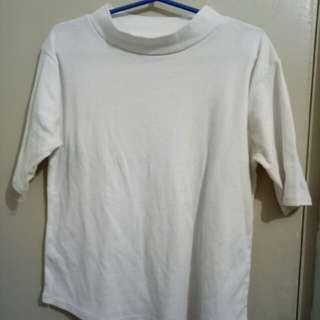 close neck shirt