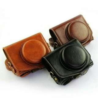 Mini Portable Cover Case for Canon 7X (BROWN)