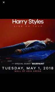 #HarryStylesMNL ticket