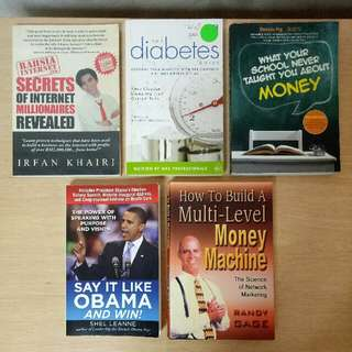 Book Clearance (1 for $4)
