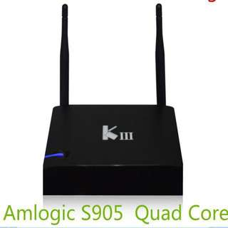 KIII 2G + 16G Amlogic S905 Quad Core Android Streaming Box consumer electronics
