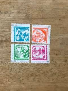 香港安徒生郵票