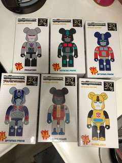 🇯🇵100% new Transformerable Medicom Toy Transformer Bearbrick 200%