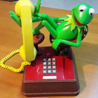 BNIB 70/80s Vintage KERMIT -the - FROG PHONE
