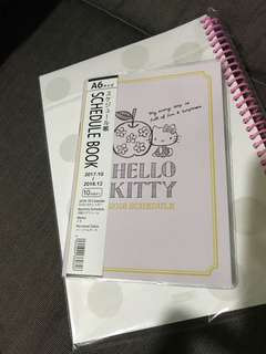 Hello Kitty Schedule Book
