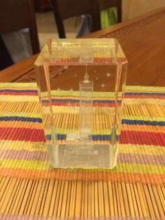 Taipei 101 Glass Paper Weight