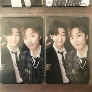 THE BOYZ THE FIRST Jacob x Kevin Live Ver Photocard