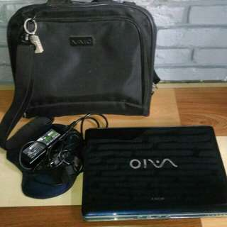 Laptop sony vaio vgn cr-353 mulus