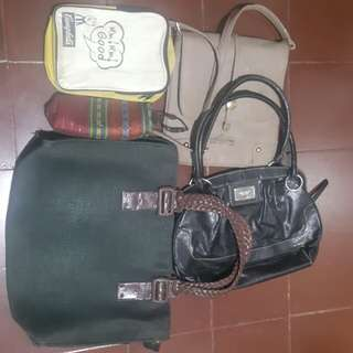 Bags & shoes for recycling/upcycling