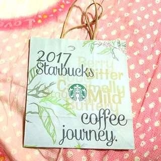 🚚 星巴克2017年咖啡旅程紙袋