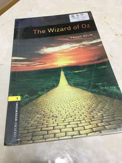 The wizard of oz English book
