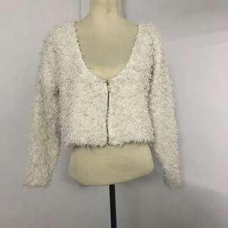 SALE 20% OFF: Faux Fur Top/Blazer