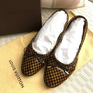 Louis Vuitton LV  ballerina shoes   @Made in Italy  @Size 37