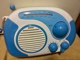 防水收音機
