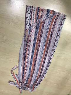 Bohemian Skirt with strings to tie #Bajet20