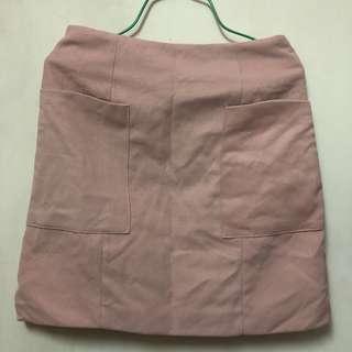 粉色半截裙