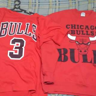 Chicago bulls Sleeve & Tee's