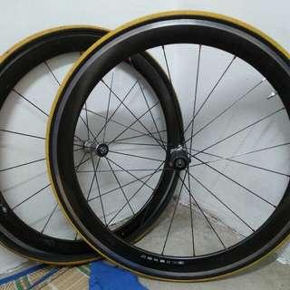 Wheelset Dura Ace Carbon C50