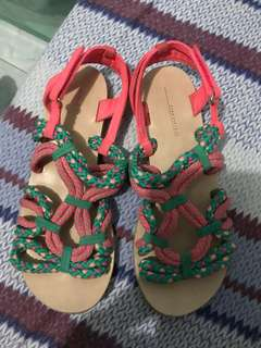 Zara Girls Knot sandals