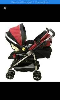 Jual stroller dan baby car seat sepaket
