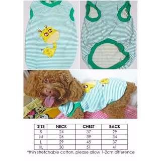 Dog Cat Rabbit Pet Clothes Giraffe
