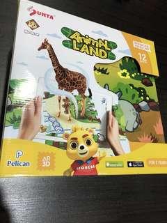 Interactive Puzzle Mat (Animal Land)