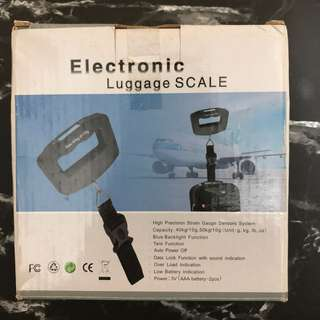 Electronic Luggage Scale 旅行行李電子磅