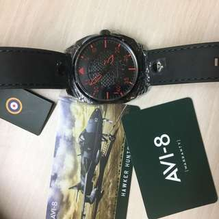 AVI-8 Watch with day & date