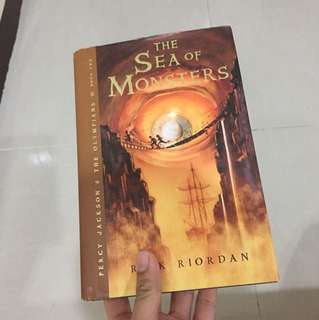 (Hardbound) Percy Jackson Sea of Monsters