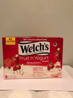 Welch's Fruit n Yogurt Snacks(22.7gx8包) 威路氏乳酪小食  加拿大🇨🇦直送 每盒8包