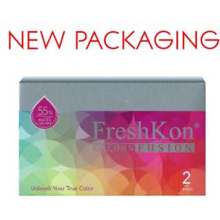 (FREE POS)FreshKon Colors Fusion Cosmetic Contact Lenses (Monthly)