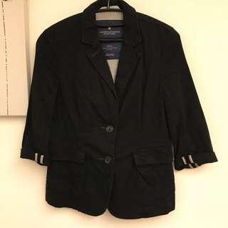 🚚 American eagle 七分袖西裝口袋外套