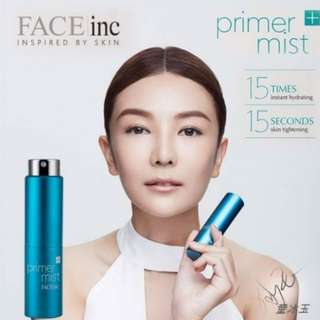 🌹TIGHTENS, 15X INSTANT HYDRATION BOOST AND PRIMES SKIN IN JUST ONE SPRAY🌹LONG TERM ANTI AGING EFFECTS!! JUST 15 SEC A DAY AND MAKEUP STAY ALL DAY LONG!!!🌹 Face Inc Primer Mist