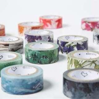 Flower Theme Washi Tape