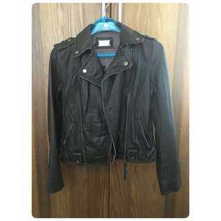 Leather jacket (Dark Brown)