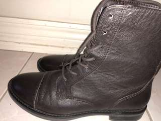 nice sark brown leather asos boots