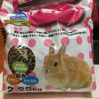二手兔飼料