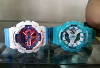 Authentic G-shock Doraemon Teal Pink Kate Spade Watch