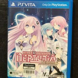 Psvita HyperDimension Neptunia Re;Birth 2 (ps Vita)