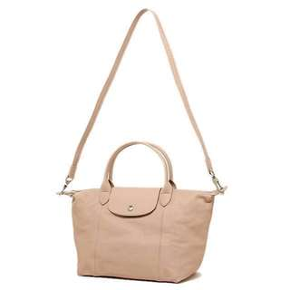 Longchamp Le Pliage Cuir Lambskin Leather Bag